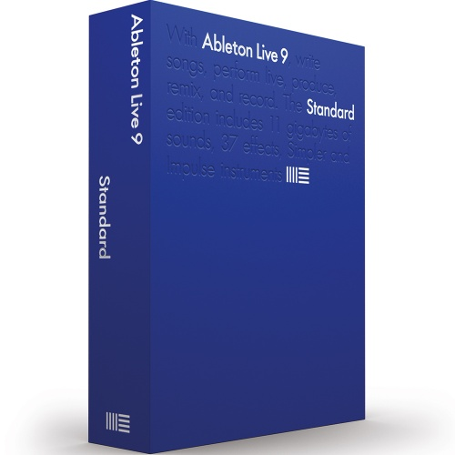 Ableton Live 9 Standard Audio Production and DJ Performance Software