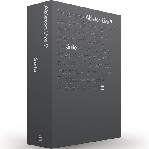Ableton Live 9 Suite Audio Production and DJ Performance Software