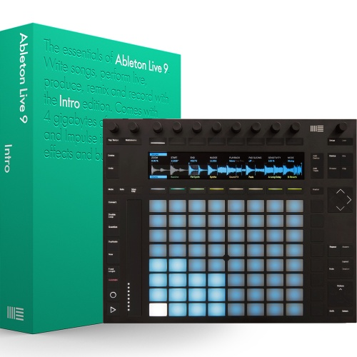 Ableton Push 2 Music Production Controller + Ableton Live Intro 9