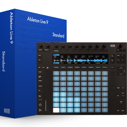 Ableton Push 2 Production Controller + Ableton 9 Standard (Download)