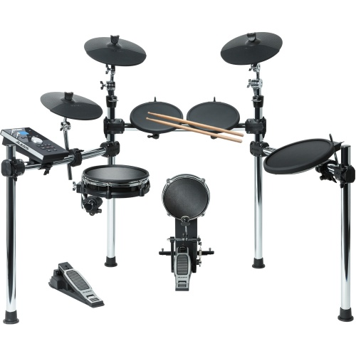 Alesis Command 8 Piece Electronic Mesh Drum Kit, Inc Sticks & Pedals