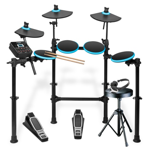 Alesis DM Lite Digital Drum Kit + Drum Stool, Sticks & Headphones