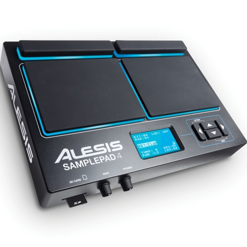Alesis Sample Pad 4 Percussion & Sample-Triggering Instrument