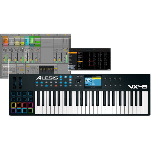 Alesis VX49 USB/MIDI Keyboard With Full Colour Screen