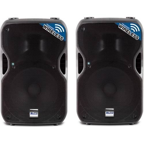 Alto Truesonic TS112W Active PA Speaker, Wireless Connectivity (Pair)
