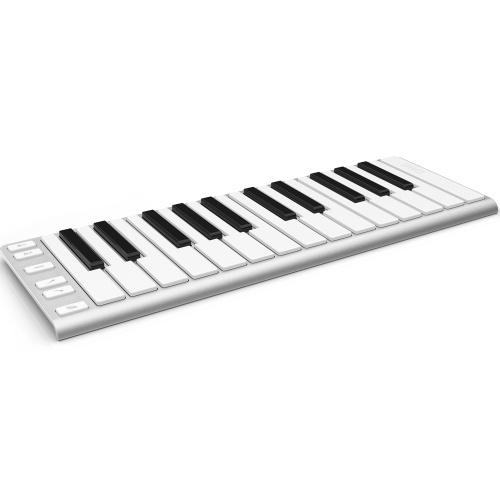 CME X-Key Portable USB MIDI Keyboard Brushed Aluminium