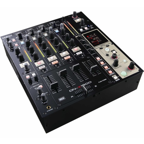 Denon DN-X1600 Professional Traktor Scratch Certified 4 Channel DJ Mixer