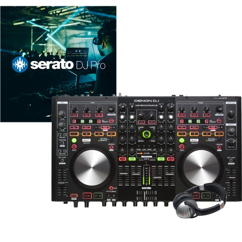 Denon DN-MC6000MK2 DJ Controller + Serato DJ Full Version (B-Stock)