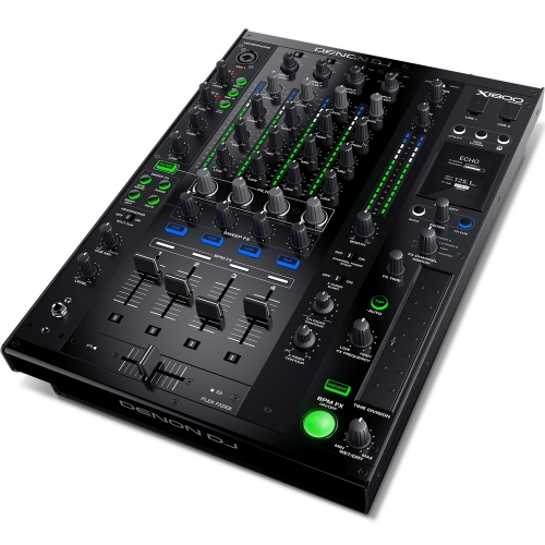 Denon X1800 Professional 4 Channel DJ Mixer With FX