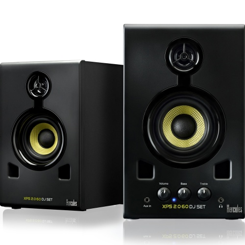 Hercules XPS 2.0 60 Active Studio Monitors Black (Pair)
