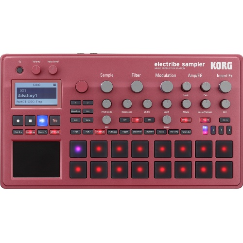 Korg Electribe ESX2 Music Production Sampler Red Edition