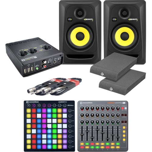 Novation Launchpad MK2, Audio Hub, Launch Control XL, KRK RP5 G3 Bundle