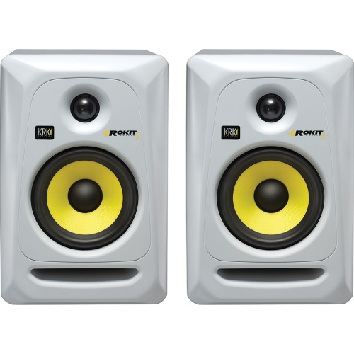 KRK Rokit RP5 G3 White Active Studio Monitors (Pair)