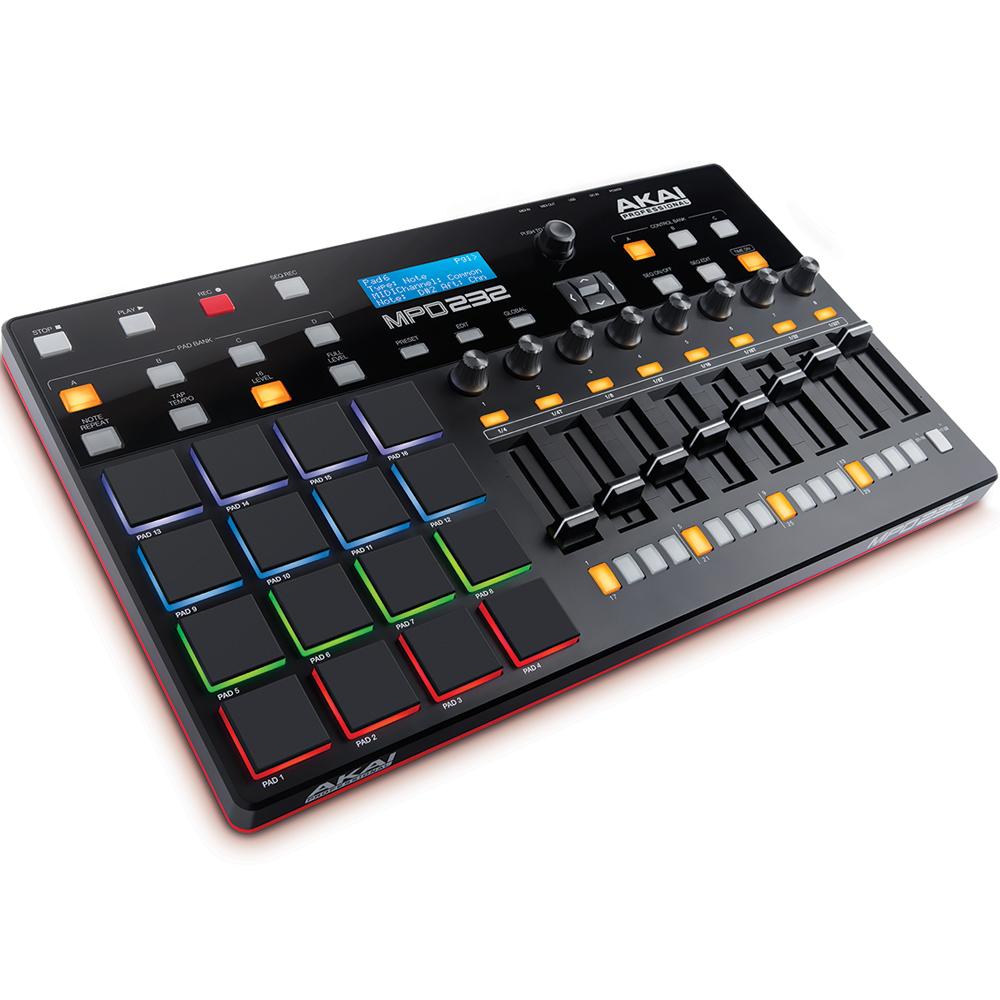 akai mpd232 usbmidi pad controller the disc dj store