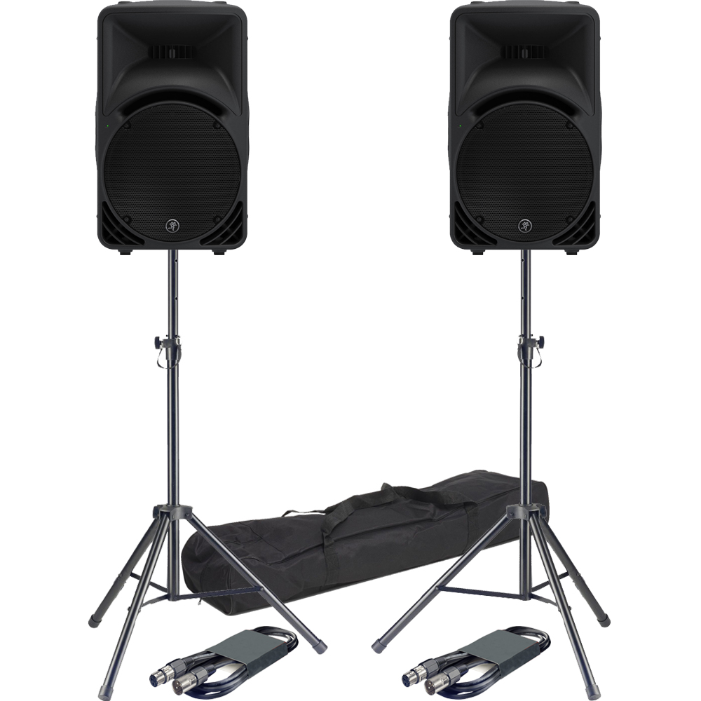 mackie srm450 v3 active pa speaker bundle deal the disc dj store. Black Bedroom Furniture Sets. Home Design Ideas
