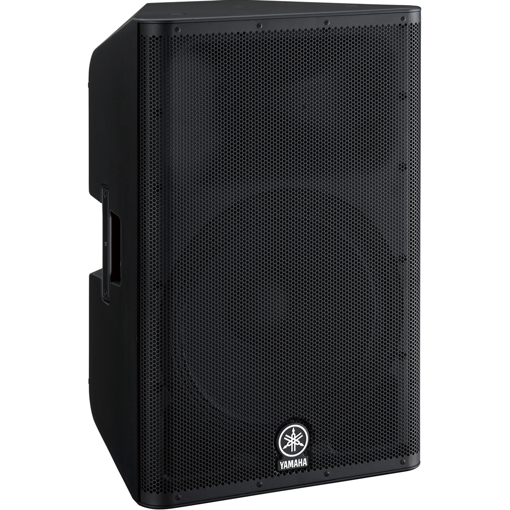 Yamaha dxr15 700 watt rms active pa speaker single the for Yamaha dj speaker