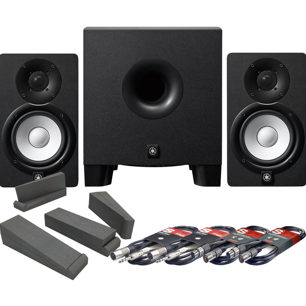 yamaha hs5 bundle the disc dj store