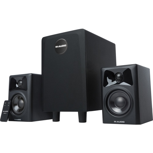 M-Audio AV32.1 Active DJ Monitors & Sub Woofer