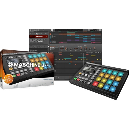 Native Instruments Maschine Mikro MK2 Black + Free Komplete Select