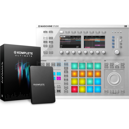 Native Instruments Maschine Studio White + Komplete 11 Ultimate  Bundle