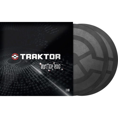 ​Native Instruments Traktor Butter Rugs Advanced Slipmats (Pair)