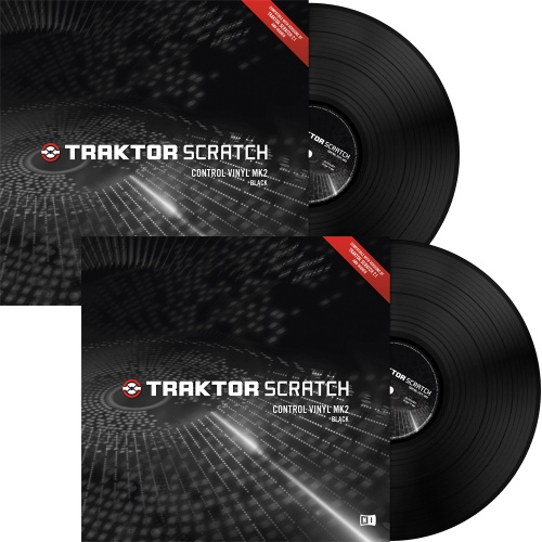 Native Instruments Traktor Scratch Black MK2 Timecode Vinyl (Pair)