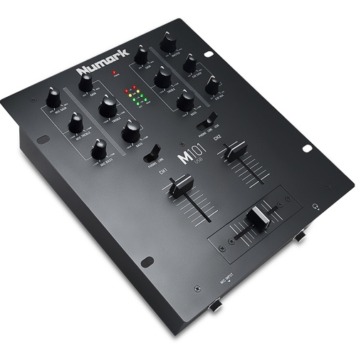 Numark M101 USB 2 Channel DJ Mixer with USB Connectivity
