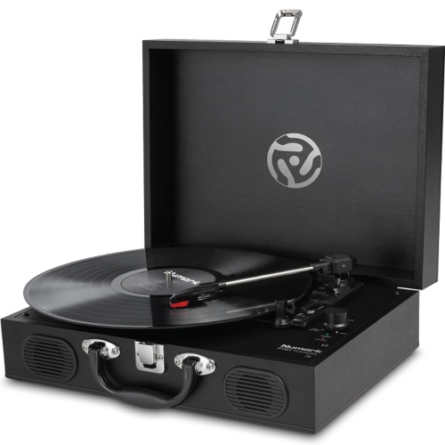 Numark PT01 Touring Turntable With Built-In Speakers