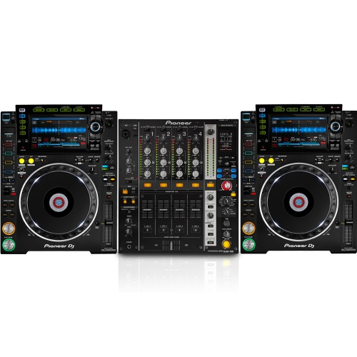 2 x Pioneer CDJ-2000 Nexus MK2 & DJM-750-K Bundle Deal