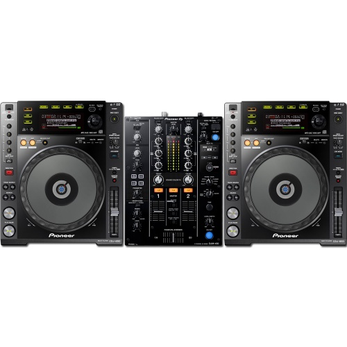2 x Pioneer CDJ-850K & DJM-450 Bundle Deal