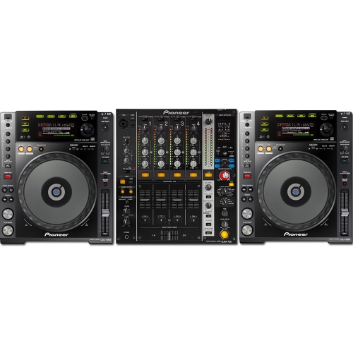 2 x Pioneer CDJ-850K & DJM-750K Bundle Deal