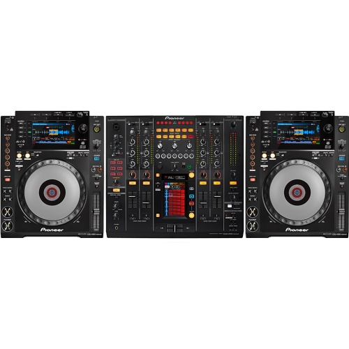 2 x Pioneer CDJ-900 Nexus & DJM-2000 Nexus Bundle Deal