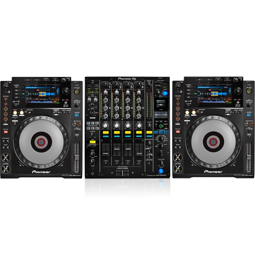 2 x Pioneer CDJ-900 Nexus & DJM-900 Nexus MK2 Bundle Deal