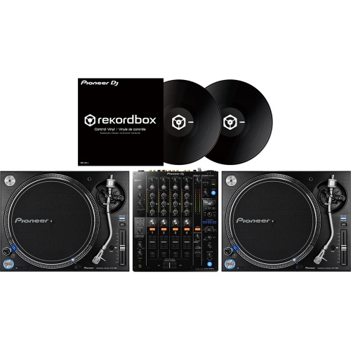2 x Pioneer PLX1000 & DJM-750 MK2 + Rekordbox DVS Vinyls Bundle Deal