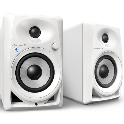 Pioneer DM-40BT-W 4'' Active Monitors With Bluetooth, White