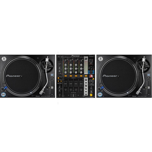 ​Pioneer PLX1000 Turntables + DJM-750K Mixer Bundle