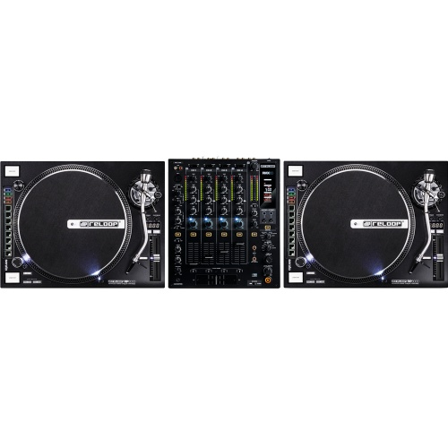 Reloop RP8000 Digital DJ Turntables With MIDI Control & RMX60 Pro Mixer
