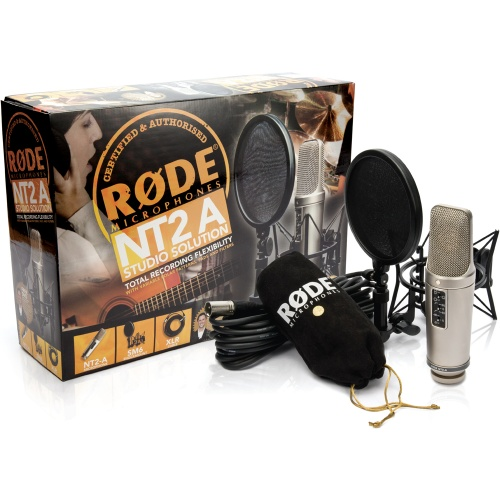 Rode NT2-A Studio Solution Pack Microphone Bundle