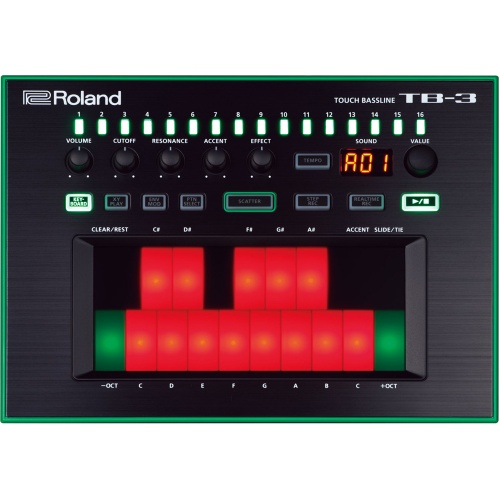 Roland Aira TB-3 Performance Bass Synthesizer