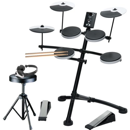 Roland TD-1K Electronic Drum Kit + Stool, Sticks & Headphones Bundle