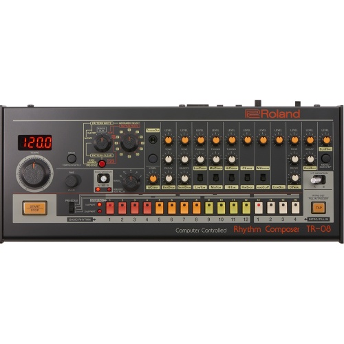 Roland Boutique TR-08 Drum Machine, Based On The Classic TR-808