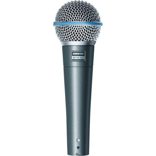 Shure Beta 58A Professional Supercardioid Dynamic Vocal Microphone