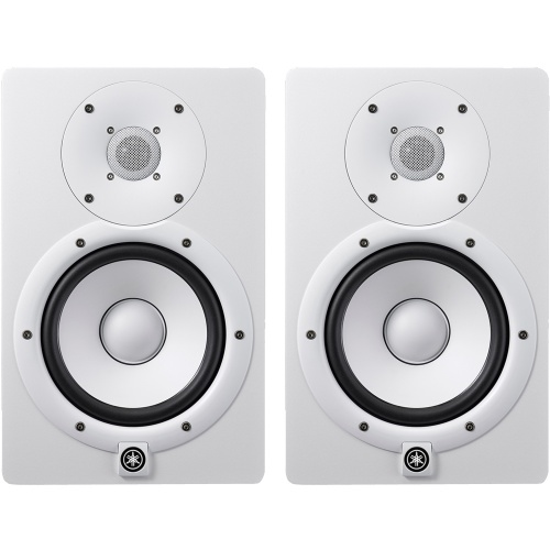 Yamaha HS7 White Active Studio Monitors (Pair)