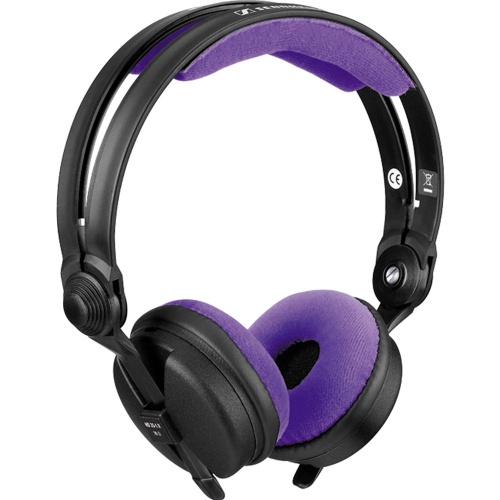 Zomo Violet Purple Velour Replacement Pad Set for Sennheiser HD25
