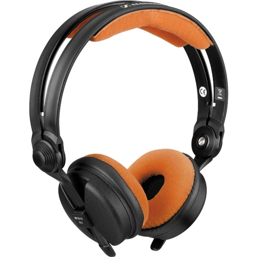 Zomo Tangerine Orange Velour Replacement Pad Set for Sennheiser HD25