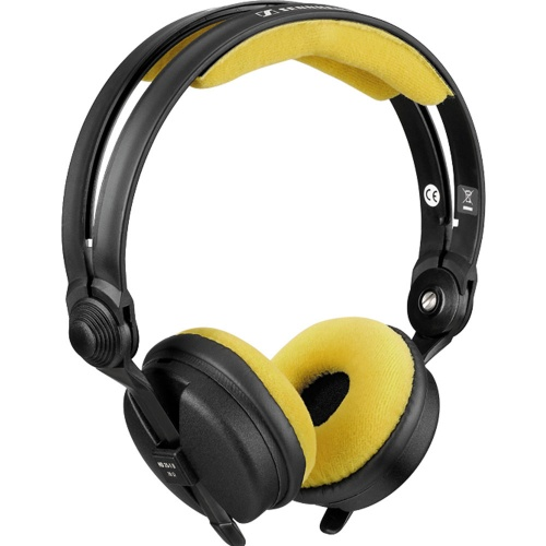 Zomo Yellow Velour Replacement Pad Set for Sennheiser HD25