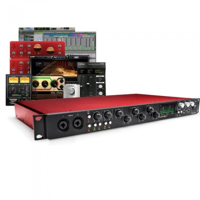 Focusrite Scarlett 18i20 (2nd Gen) Audio Interface, Free Plugin Bundle