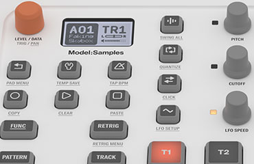 ELEKTRON MODEL SAMPLES, LIGHTWEIGHT SIX TRACK GROOVEBOX