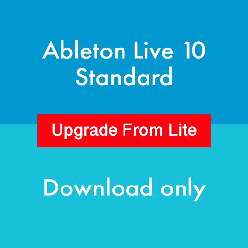 Ableton Live 10 Standard Upgrade From Lite (Download)