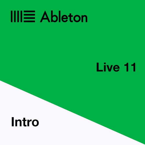 Ableton Live 11 Intro Software (Download)
